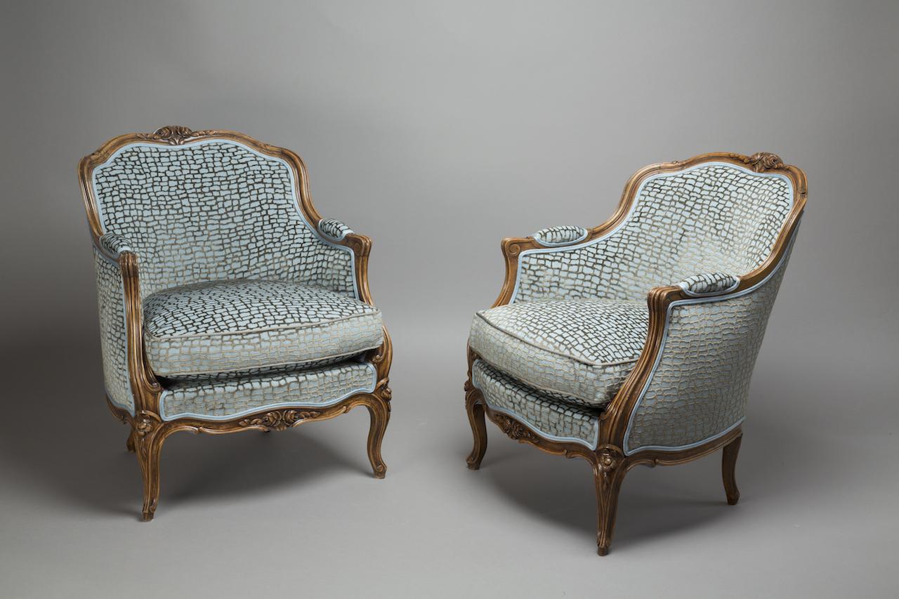 La berg re un fauteuil des plus f minin the decoralist - Fauteuil style bergere ...