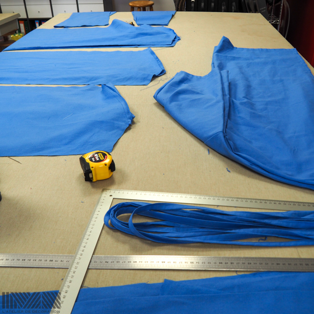 L'Atelier de décoration, fabrication de blouses