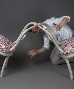 Le Coq et le Crapaud - Chaises Louis Philippe