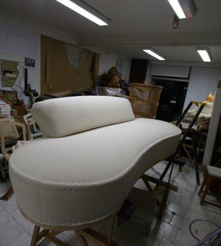 Gabriel Ravet - Restauration à neuf d'un canapé