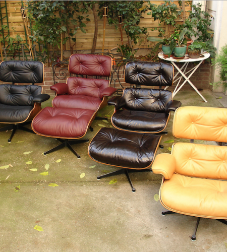 LOUNGE CHAIR RAY ET CHARLES EAMES
