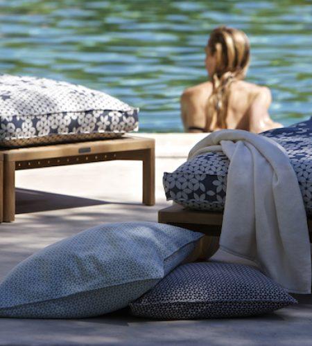 Christian Fischbacher Fabrics- Sonnenpause Sonnenschein