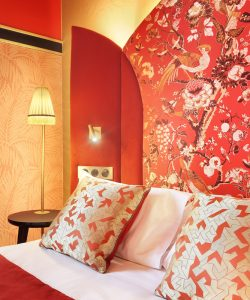 Hôtel Maison Nabis / Têtes de lit en Silkbird Jacquard – Maison Dedar