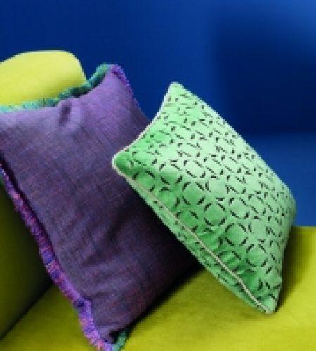 SAHCO Home Collection - green purple